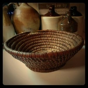 Antique Rye Basket